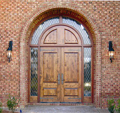 This Grand Country French Exterior Wood Entry Is Located Here In Montgomery