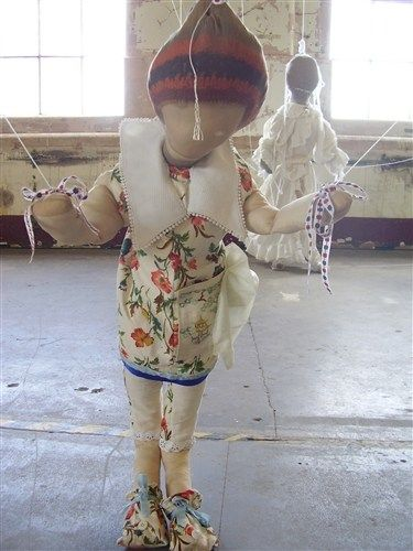 Anji Archer's work is powerful. It is both fragile and strong simultaneously. Emotive work. http://www.axisweb.org/p/anjiarcher/