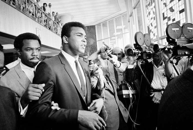 June 20,   1967: MUHAMMAD ALI IS CONVICTED  -   Muhammad Ali is convicted in Houston of violating Selective Service laws by refusing to be drafted. The U.S. Supreme Court later overturned the conviction.
