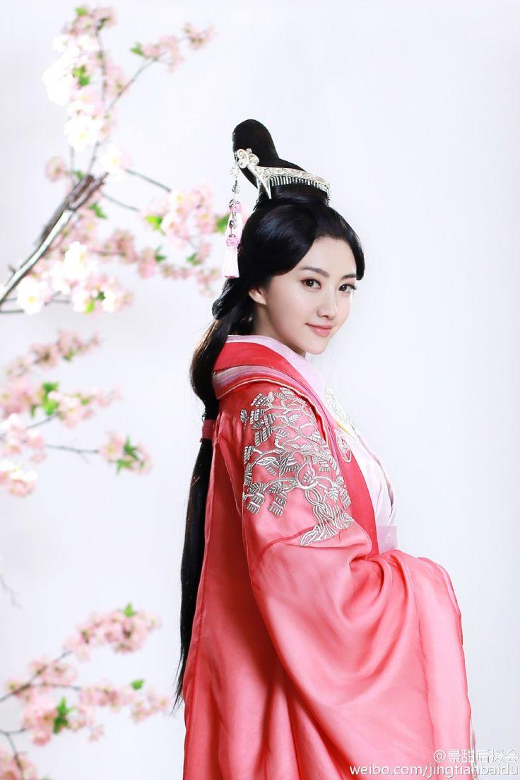 Sally Jing Tian - 景甜 in Ban Shu Legend 《班淑传奇》 2014