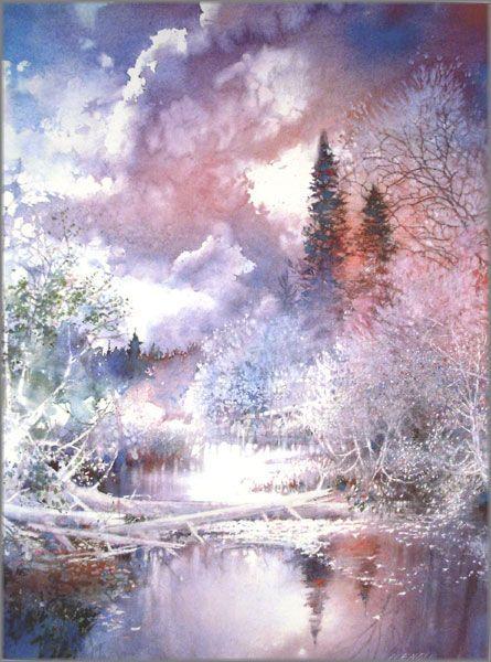 Nita engle + watercolor | Nita Engle - May Skies Renewal: Lithographs ...