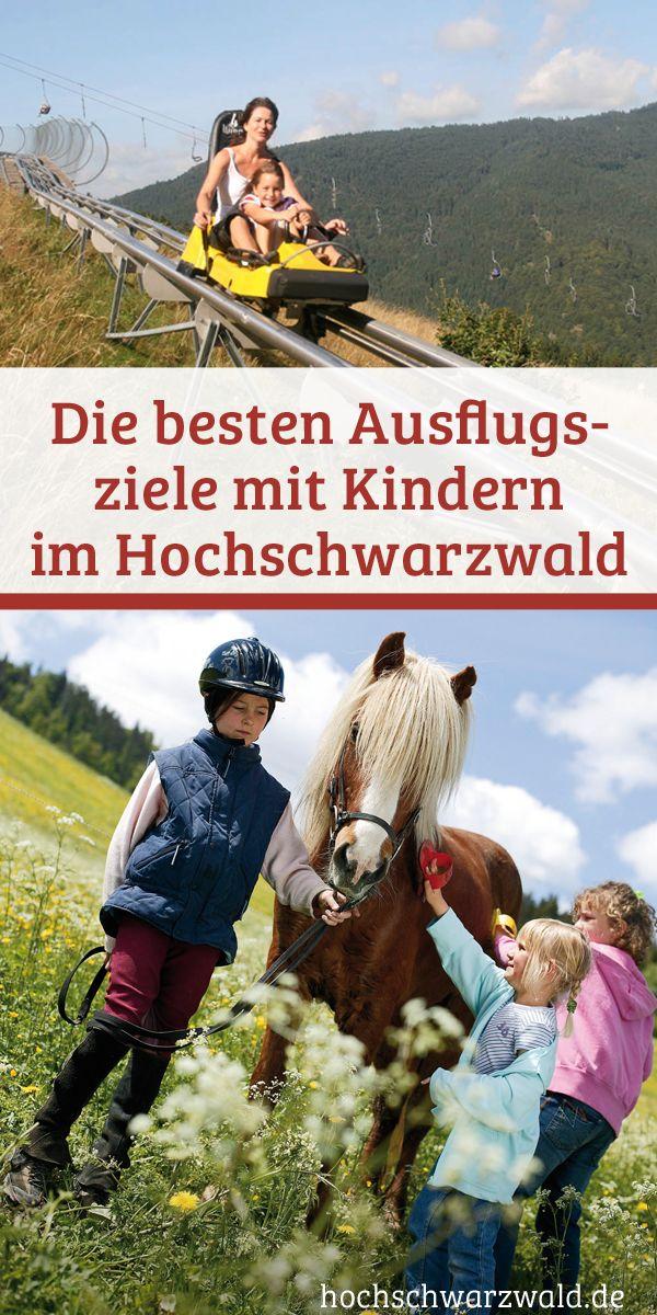 Ausflugsziele mit Kindern im Schwarzwald
