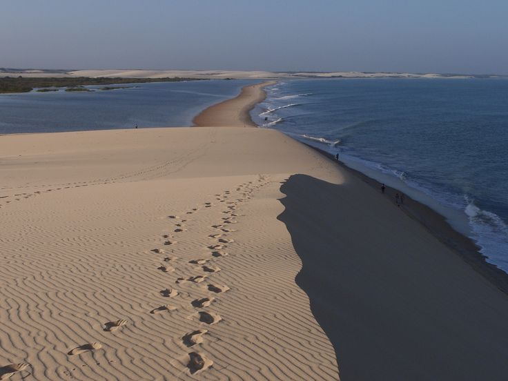 Jericoacoara: Where is it: Ceará Why you should go: If you're tired of your city's noise this is the perfect place to be. Away from everything, this small fishing village is perfect to relax, sunbathe, and practice some sand-board on the immense dunes it's surrounded by.