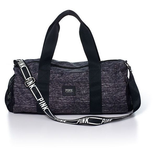 """This duffle bag is super soft and perfect for the gym, sleepovers or just carrying around your campus essentials. Only by Victoria's Secret PINK.29"""" x 50""""Re…"""