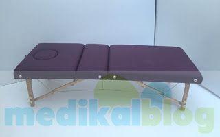 Hızlı Medikal: Çanta Tipi Portatif Masaj Yatağı