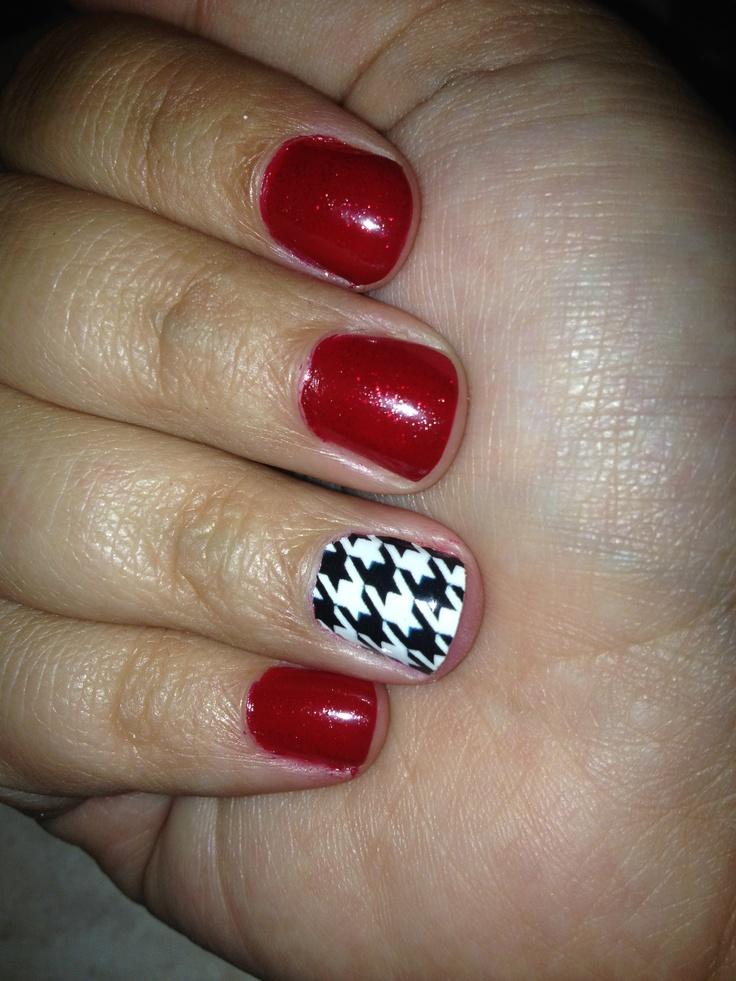 My Alabama Nails #ROLLTIDE