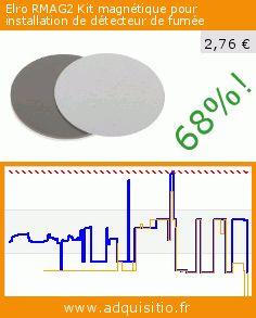 Elro RMAG2 Kit magnétique pour installation de détecteur de fumée (Outils et accessoires). Réduction de 68%! Prix actuel 2,76 €, l'ancien prix était de 8,74 €. https://www.adquisitio.fr/elro/rmag2-kit-magn%C3%A9tique