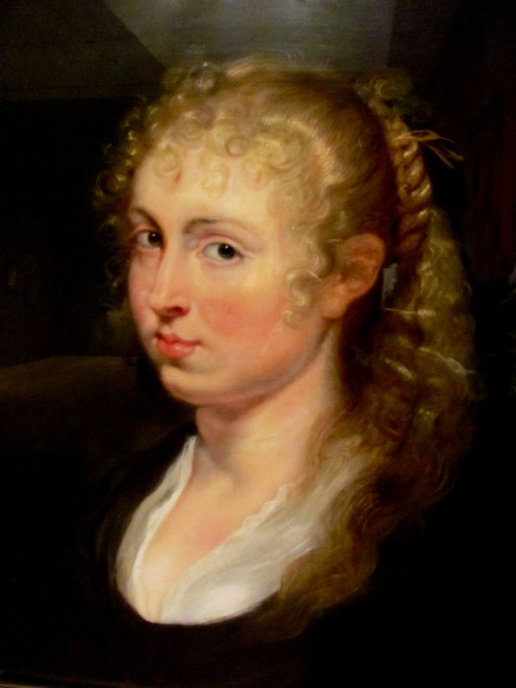 Peter Paul Rubens Young Woman with Curly Hair ca 1680