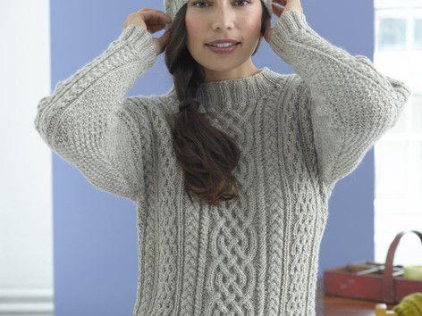 Top 5 free aran sweater knitting patterns for men ...
