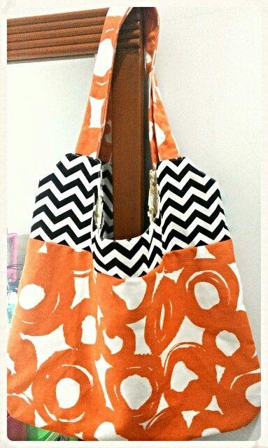 DIY Easy canvas bag ^^