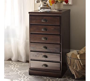 Elegant Single Drawer File Cabinet