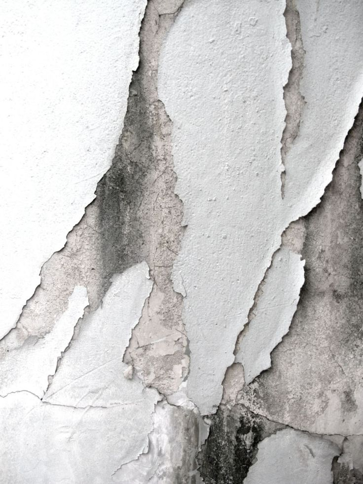 Peeling white paint, via: anca gray