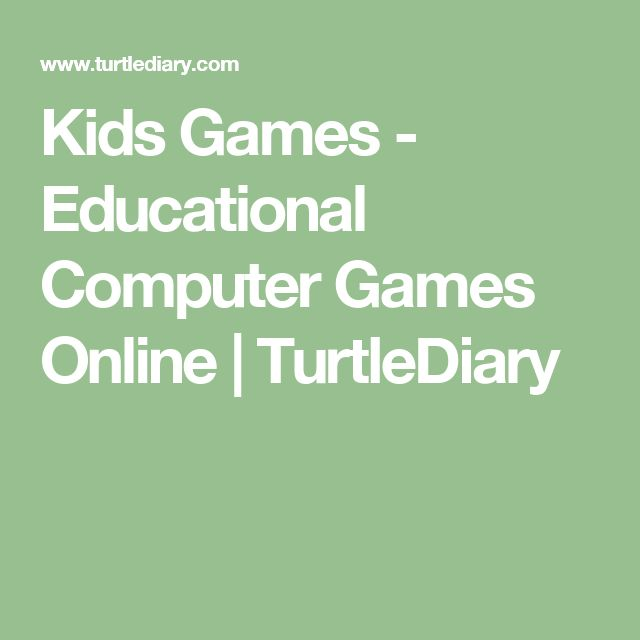 Kids Games - Educational Computer Games Online | TurtleDiary