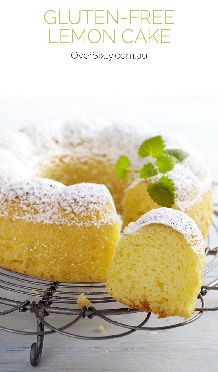 Gluten-Free Lemon Cake - if you love gluten-free baking recipes, then this delightfully moist cake is for you.