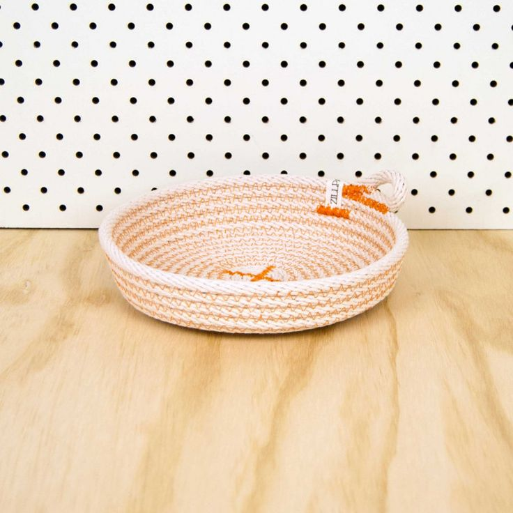 Dish // Large // Cotton rope // Custom Colour // Basket by Zillpa
