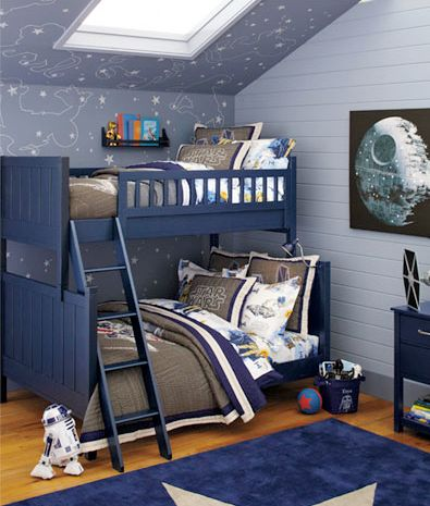 boys star weds bedrooms | Tags: boys bedroom , death star , r2d2 , star wars