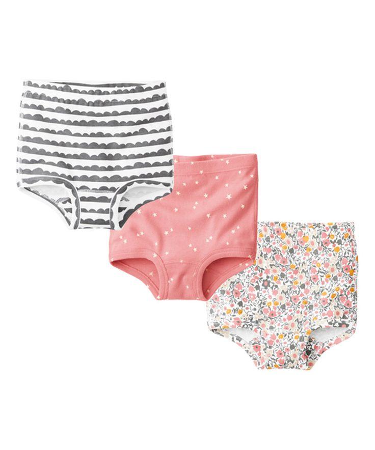 Look what I found on #zulily! Charming Multi Organic Underwear Set - Toddler & Girls by Hanna Andersson #zulilyfinds
