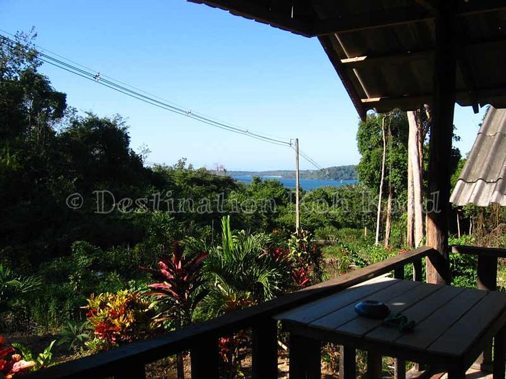View from one of the huts @ Jimmy Hut (Koh Kood, Thailand)
