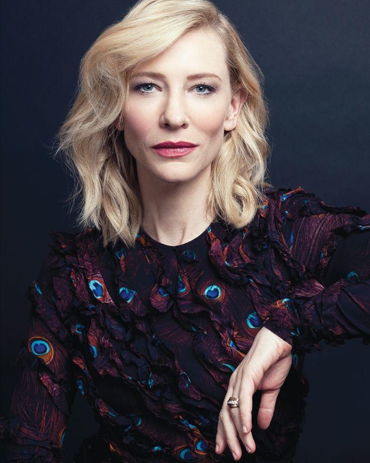"""mylittlespitfire: """" Cate Blanchett - 2015 """""""