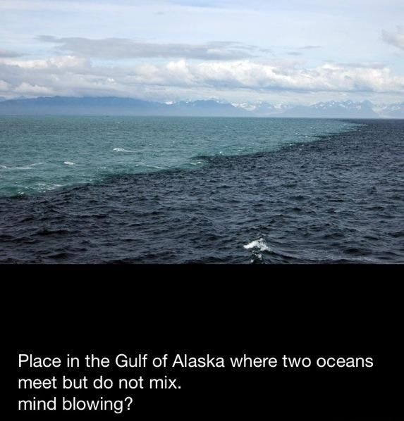 where different oceans meet