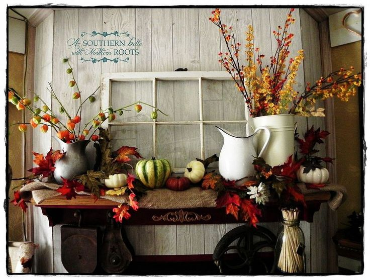 Decorating With Colors Mango: 1000+ Ideas About Autumn Decorations On Pinterest