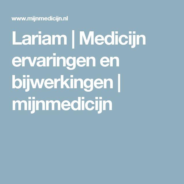 Lariam   Medicijn ervaringen en bijwerkingen   mijnmedicijn