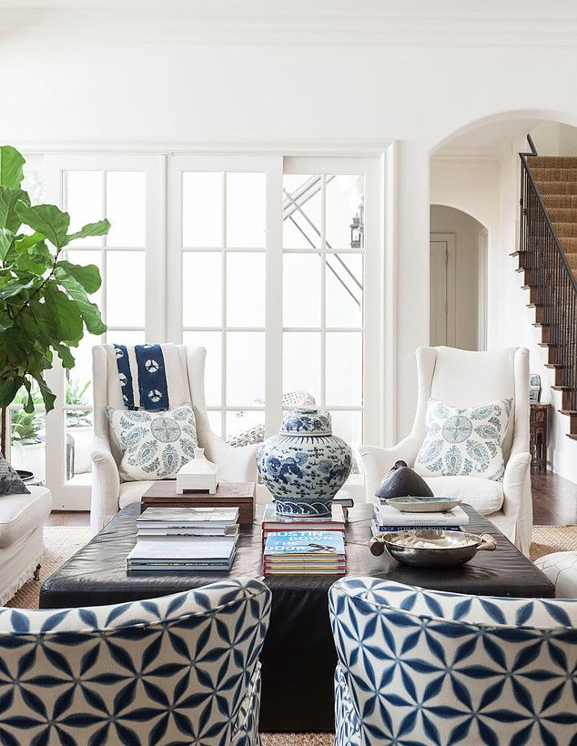 I recently stumbled upon the work of interior designer Theresa Rowe . I'll just say the first image below took my breath and made me want...
