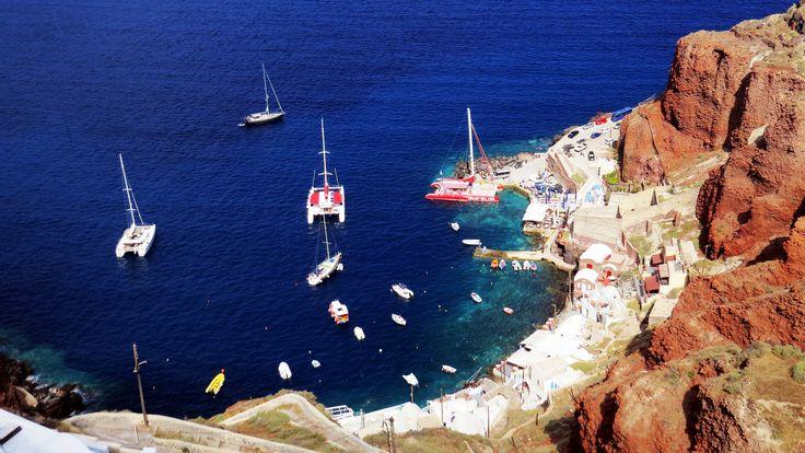 Ammoudi Port near Oia, Santorini https://www.flickr.com/photos/markgregoryphotography/19216123010/
