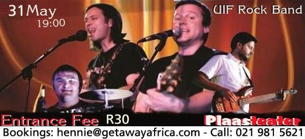 """""""UIF"""" Show & Rock Party, Vosloo Bekker & Members Live 31 May 2014 in Cape Town   Brackenfell   Gumtree South Africa   111444523"""