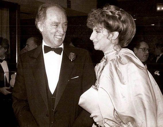 Pierre Trudeau and Barbra Streisand