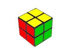 How To Solve A 2x2x2 Rubiks Cube - Mini Cube - 2x2 Rubik's Cube Solution