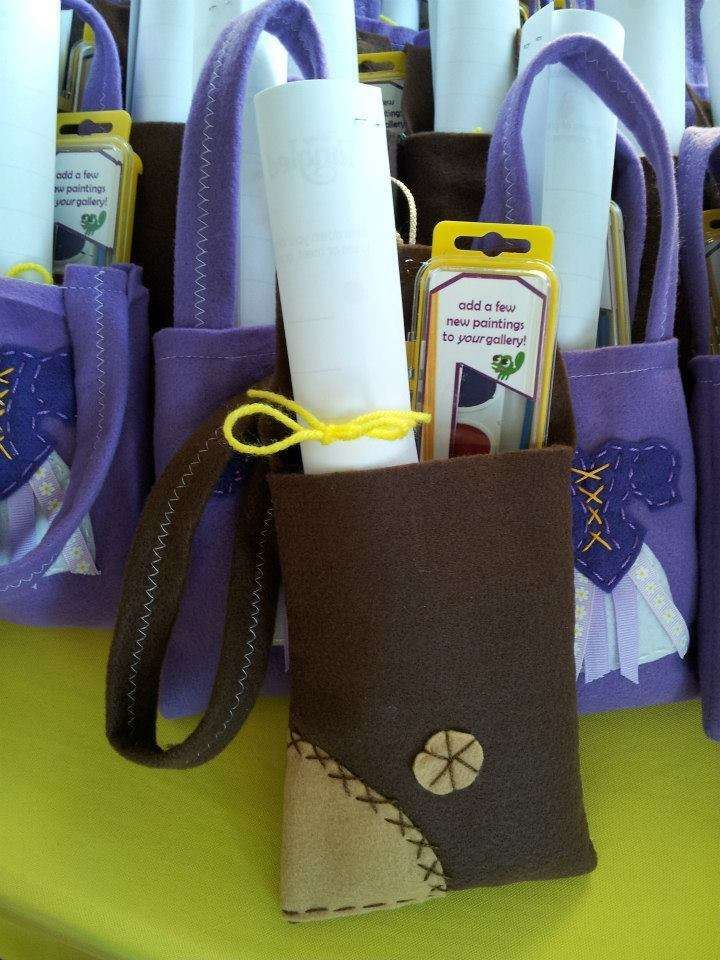 Tangled birthday party favors! See more party planning ideas at CatchMyParty.com!