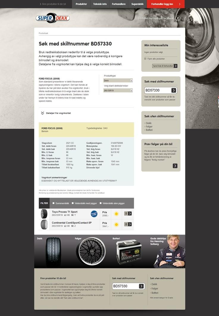 Vi takker for oppdraget og gratulerer Superdekk med flott nytt nettsted! http://appex.no/referanse/nettsted-for-superdekk/