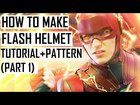 [SELF]How to make FLASH helmet. Justice League Tutorial