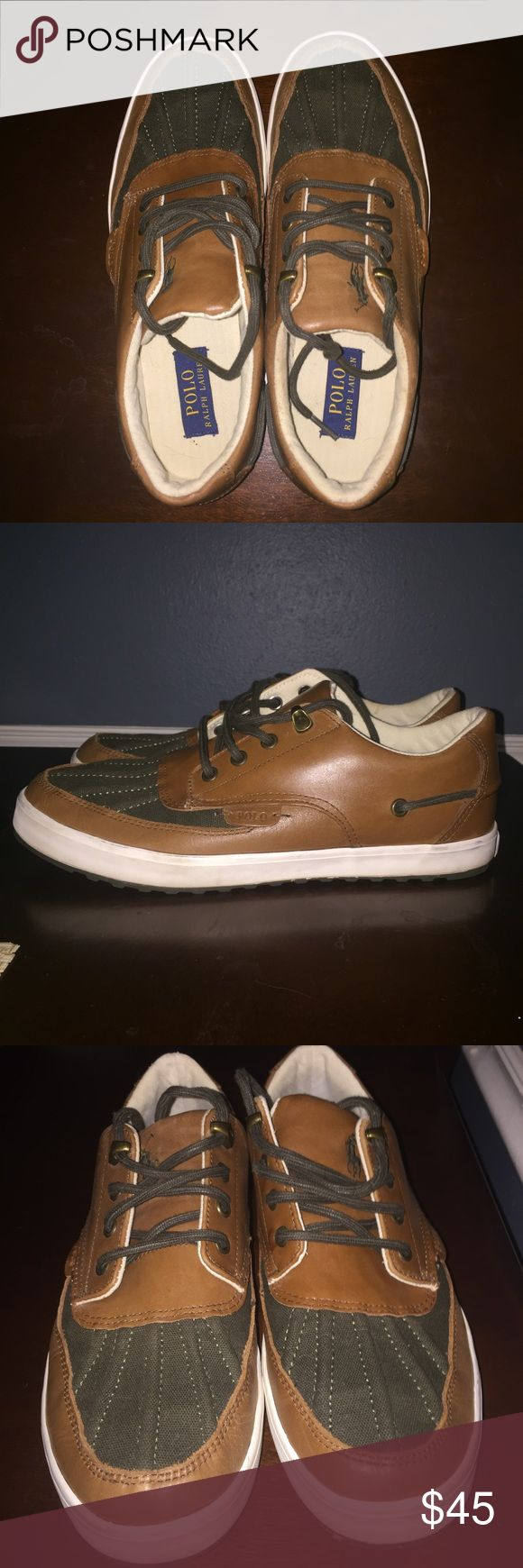 Polo Ralph Lauren shoes Polo Ralph Lauren men's shoes size 9.5, great condition. Polo by Ralph Lauren Shoes Boat Shoes