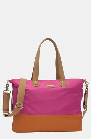Storksak Colorblock Diaper Bag available at #Nordstrom Kind of loving this