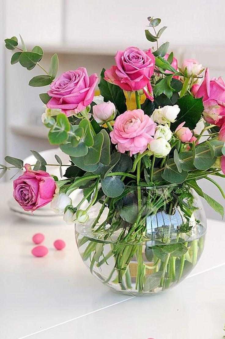 Здоровая, красивые букеты цветов картинки с добрым утром