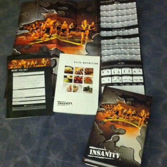 Beachbody/ Shaun T's INSANITY NEW! Comes with 11 DVD's, recipe book and a calendar to keep track of your workouts  Other