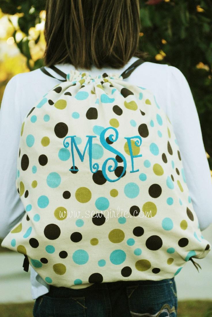 De 8 beste bildene om Drawstring backpack på Pinterest ...