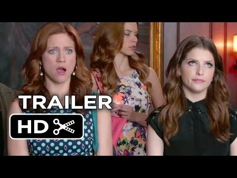 i liderally HAVE to see this movie on May 15!!!!!!!!!!! Pitch Perfect 2 Official Trailer #2 (2015) - Anna Kendrick, Elizabeth Banks Movie HD - YouTube