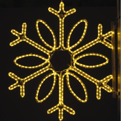 37 best rope light ideas images on pinterest rope lighting holiday lighting specialists 36 pole decoration single loop snowflake in warm white hls1370 features mozeypictures Image collections