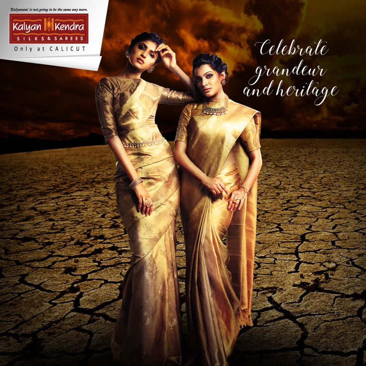 We know you represent the boldness of the present world, but you also bear the ethnic grace of Indian legacy. So, Kalyan Kendra presents you the expressions of individual style, taking you back to yesteryears and portraying elegance blended with rich tradition and contemporary designs. #Kalyankendra #Wedding #Saree #Fashion #stunning