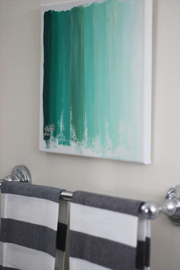 DIY Tutorial: DIY Wall Art / DIY Ombre Art - Bead
