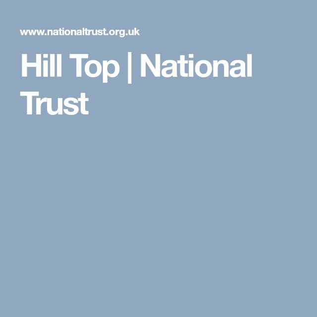 Hill Top | National Trust
