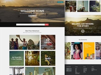 Airbnb   Home Welcome