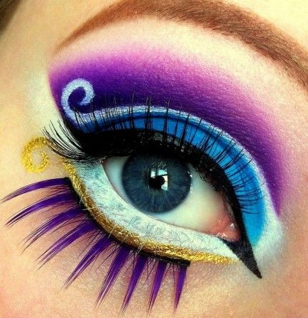 Disney-Inspired Eye Makeup Designs: Get the Look! (Video Tutorials and Photos) by @Cecilie Verene Vøyum Verene Vøyum Olsen