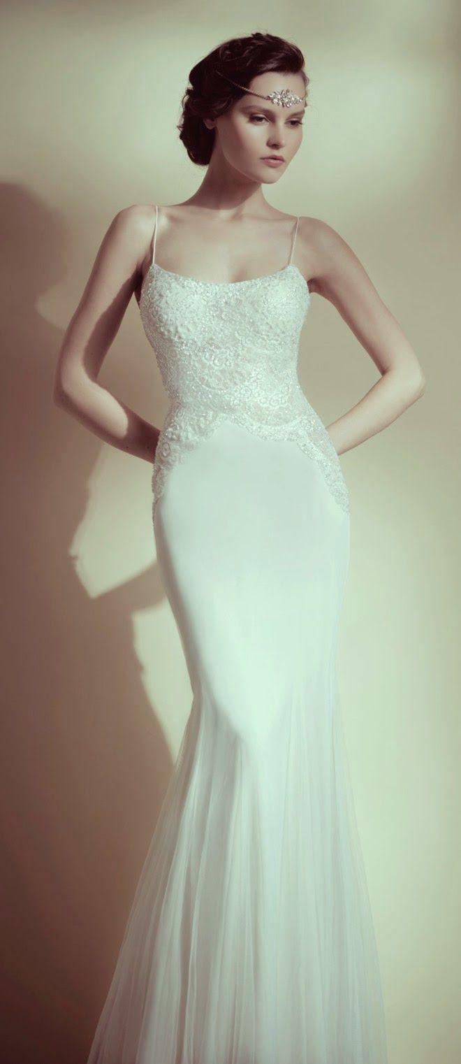 Lisa robertson in wedding dress - Wedding Dresses By Flora Bridal 2014