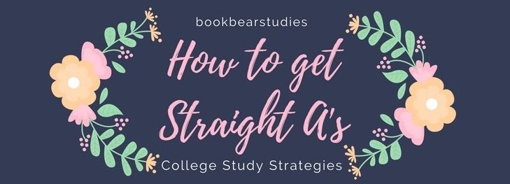 After finishing my fall semester, I have decided to compile some study strategies that will hopefully help any other college students out there (especially the premeds). These tips helped me get a 4.0...