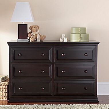 Rockland Austin Dresser/Changing Table - Espresso - jcpenney- Dresser for nursery?