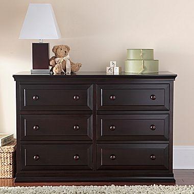 Rockland Austin Dresser/Changing Table - Espresso - jcpenney- Dresser for nursery?